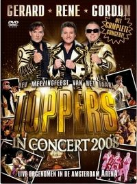 Cover Gerard - Rene - Gordon - Toppers In Concert 2008 [DVD]
